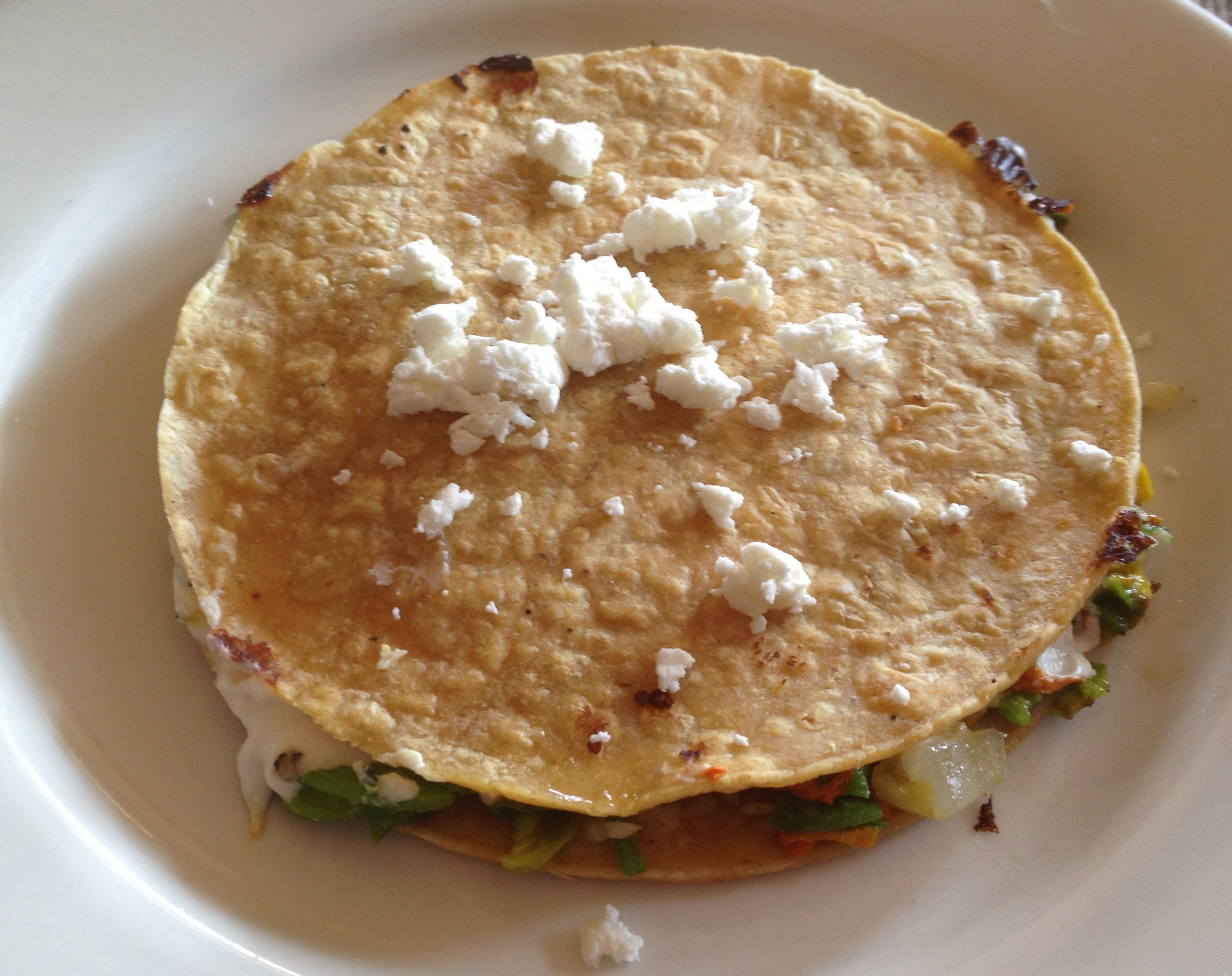 Squash Blossom Quesadillas With Bacon And Tomatoes Recipes ...