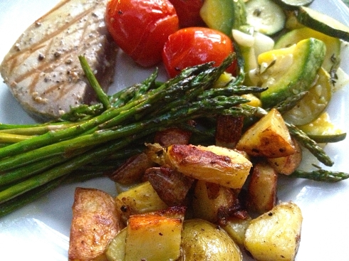Roast Veggie Dinner