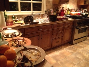kitchen aftermath