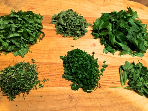 Piles of Herbs