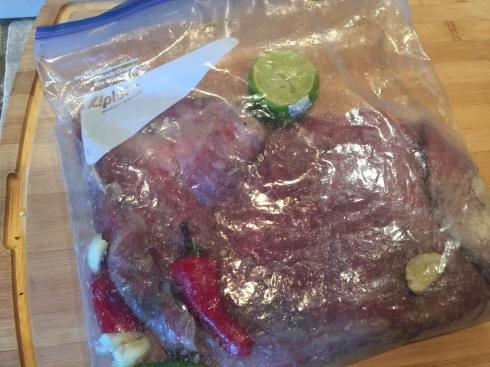Steak in Bag