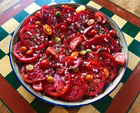 Platter of Tomatoes